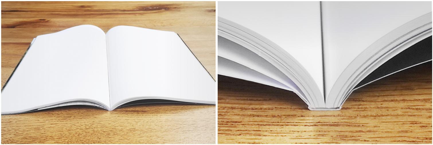 Broschüren und Bücher - Ausführung mit Klebebindung