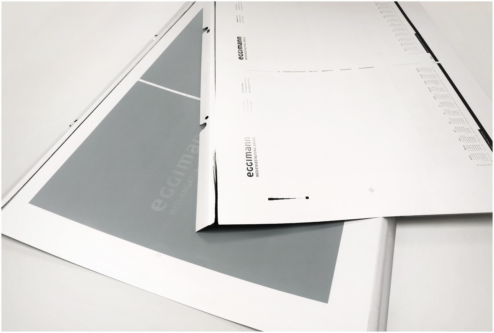 Schreibblocks A4 mit Logo – Druckplatten für den Offsetdruck
