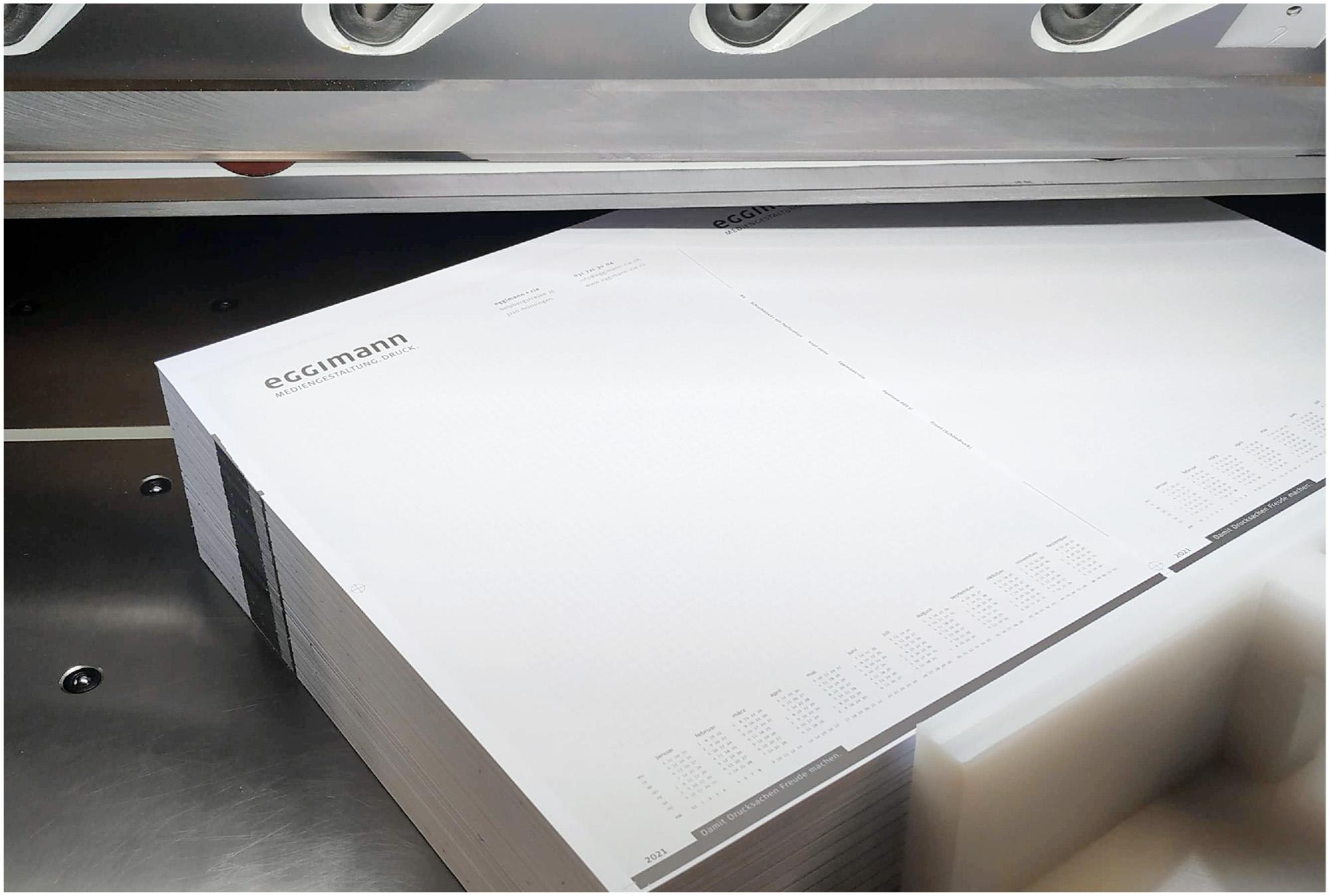 Schreibblocks A4 mit Logo – zu 50 Blatt Abstechen