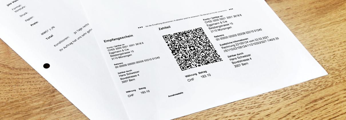 Formulare QR-Rechnung